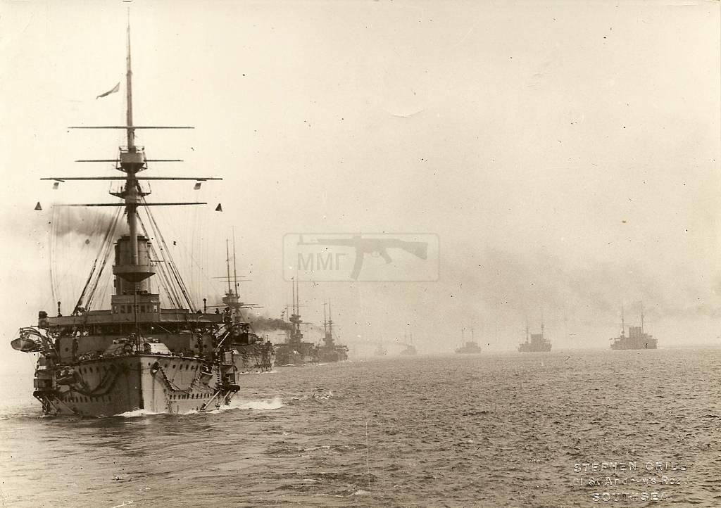 515 - Броненосцы, дредноуты, линкоры и крейсера Британии