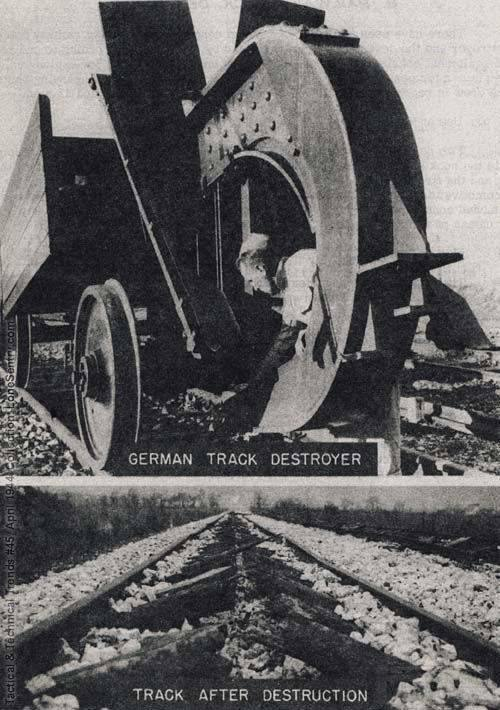 5154 - Путевые разрушители Второй мировой войны.