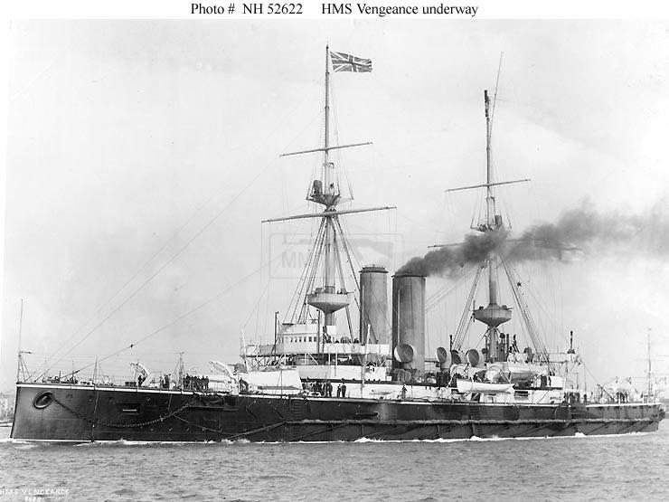 518 - Броненосцы, дредноуты, линкоры и крейсера Британии
