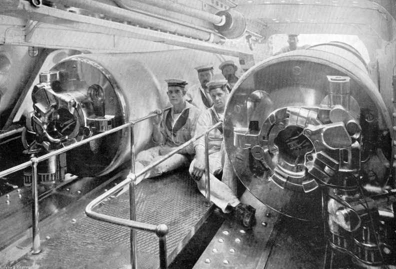 519 - Броненосцы, дредноуты, линкоры и крейсера Британии