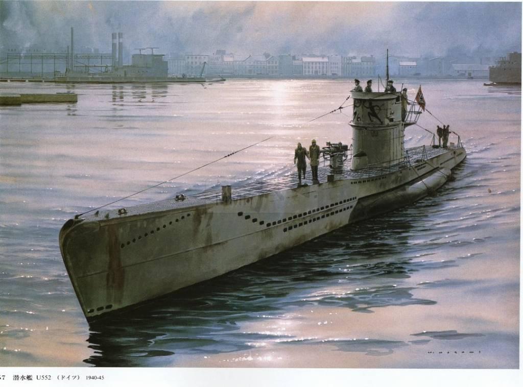 520 - Волчьи Стаи - Германские подводные лодки двух мировых войн