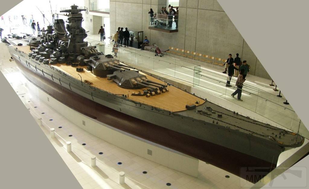 "5218 - Модель линкора ""Ямато"" в музее Куре"