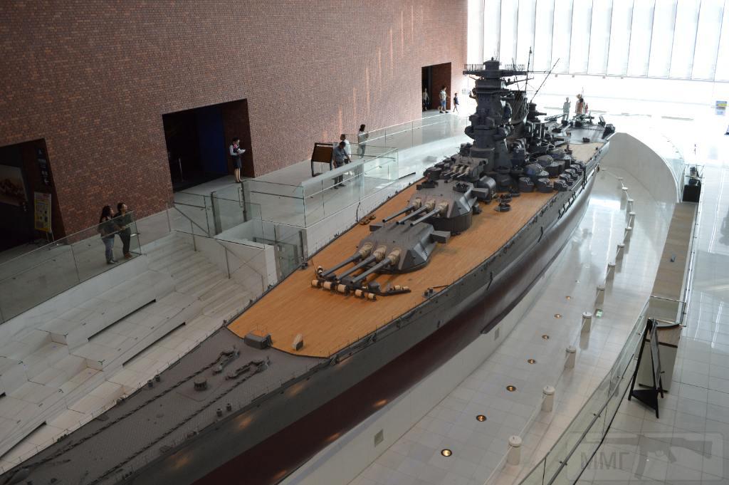 "5219 - Модель линкора ""Ямато"" в музее Куре"