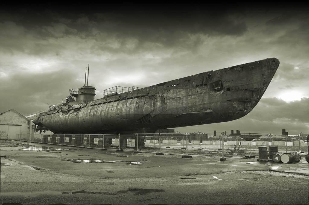 522 - Волчьи Стаи - Германские подводные лодки двух мировых войн
