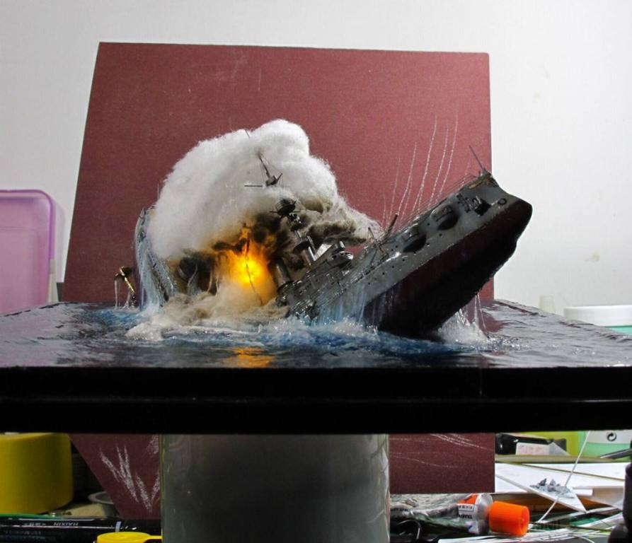 5223 - Взрыв корабля подсвечен лампочкой