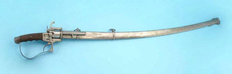 5254 - Шпилечный револьвер — сабля.