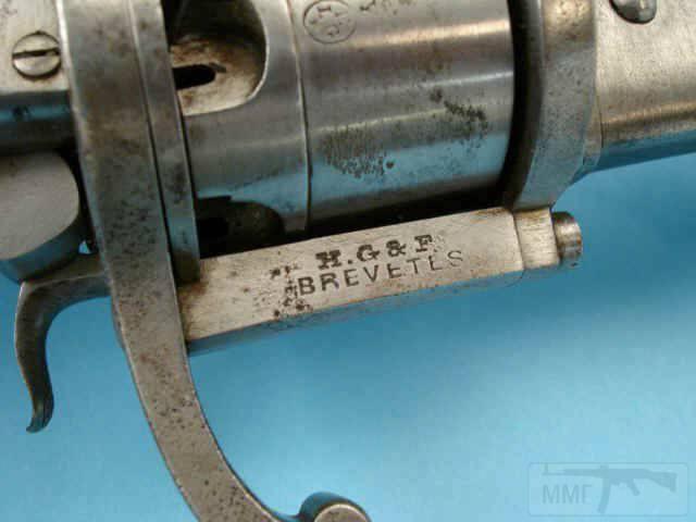 5257 - Шпилечный револьвер — сабля.