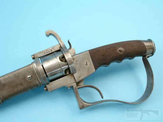 5258 - Шпилечный револьвер — сабля.