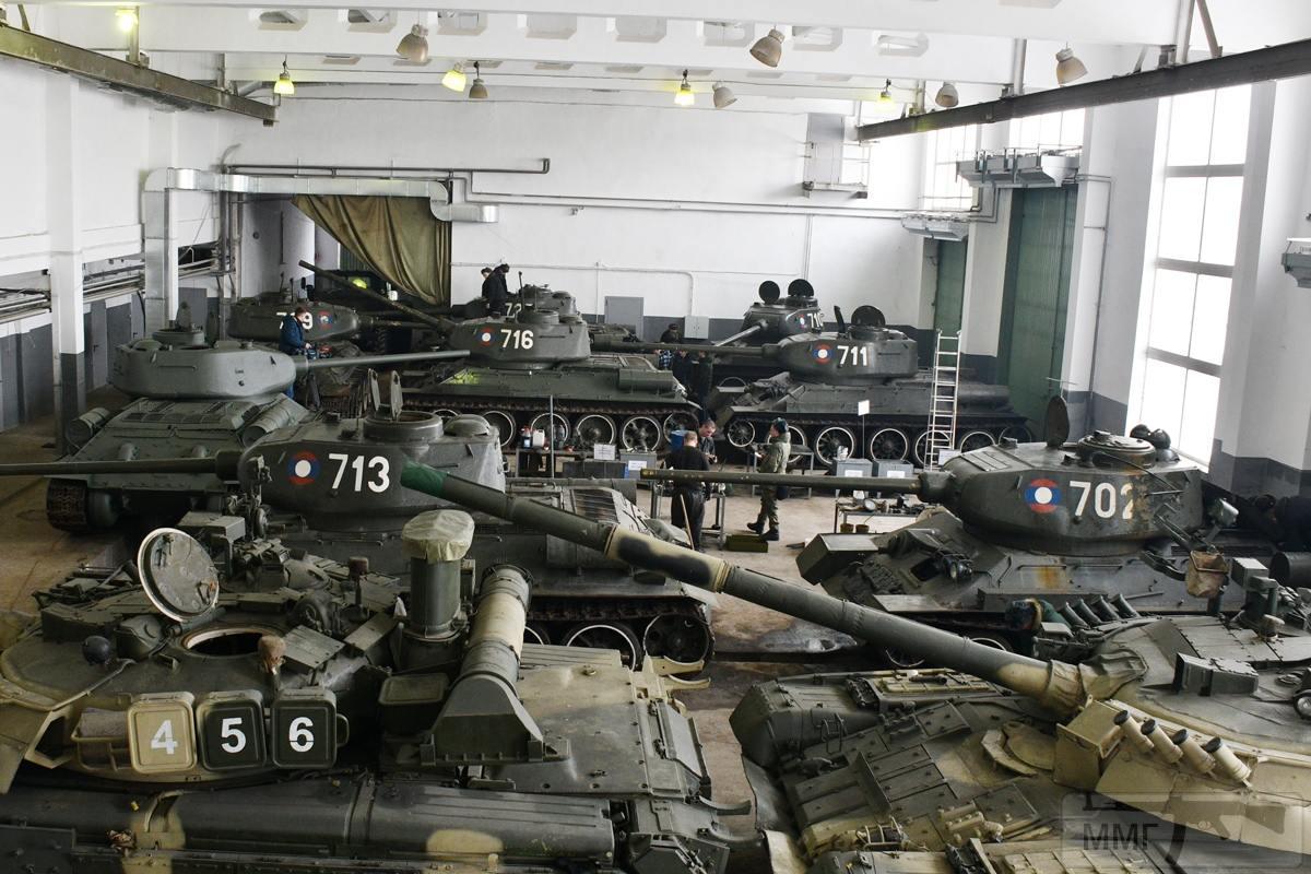 52621 - Послевоенное использование советской бронетехники WW2