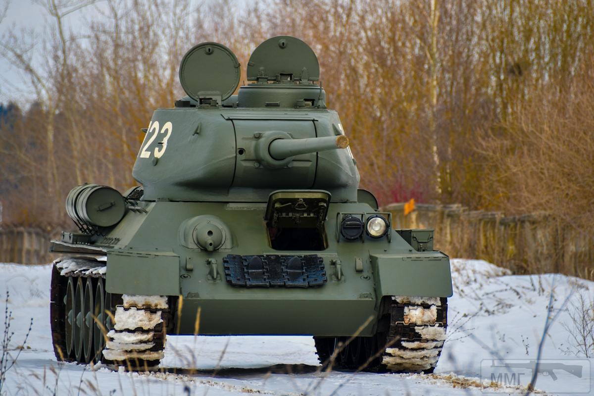 52629 - Послевоенное использование советской бронетехники WW2