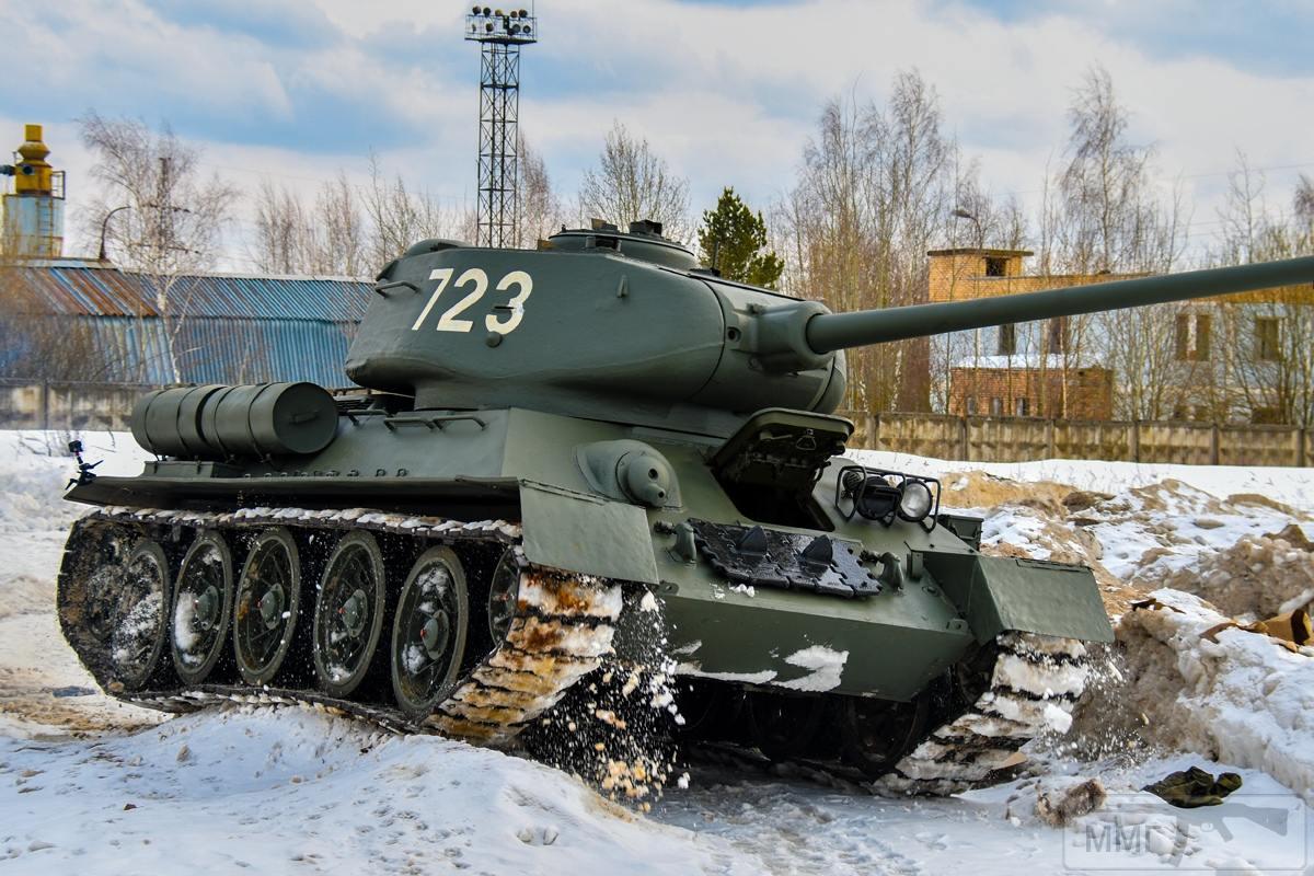 52630 - Послевоенное использование советской бронетехники WW2