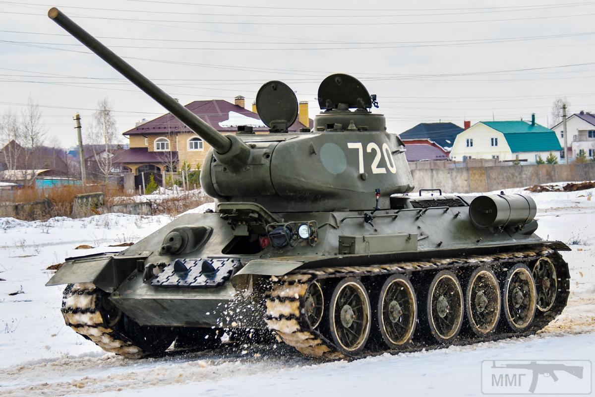 52632 - Послевоенное использование советской бронетехники WW2
