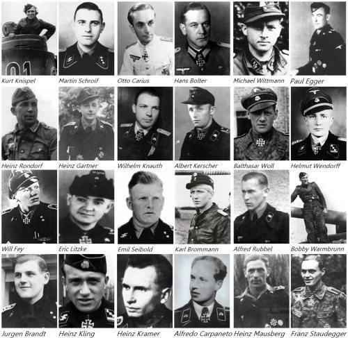 5290 - Великие и не очень танкисты Германии