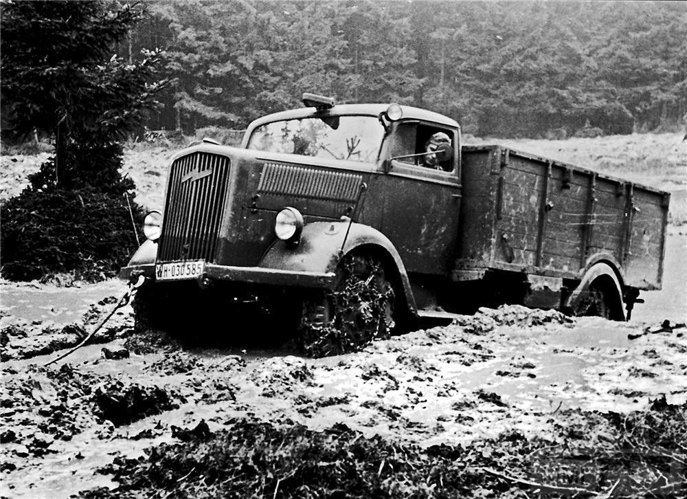 53211 - Грузовые и спец.автомобили Третьего рейха