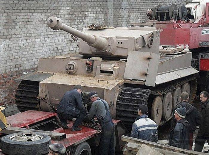 5323 - Деревянный танк