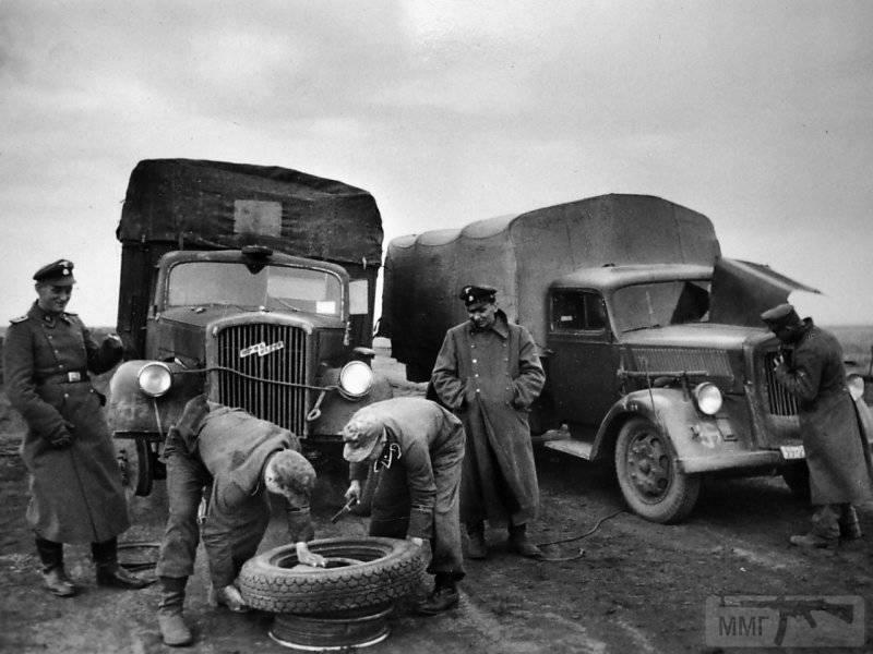 53446 - Грузовые и спец.автомобили Третьего рейха