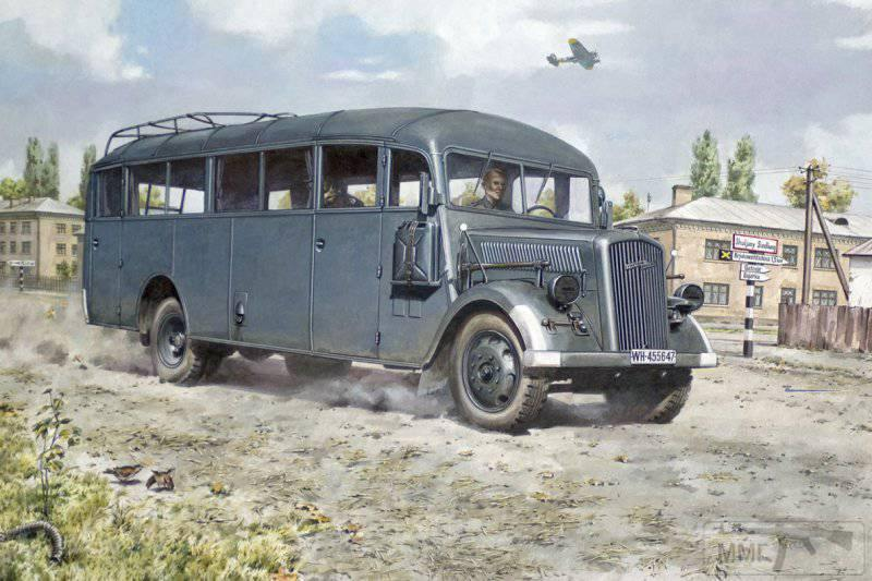 53449 - Грузовые и спец.автомобили Третьего рейха