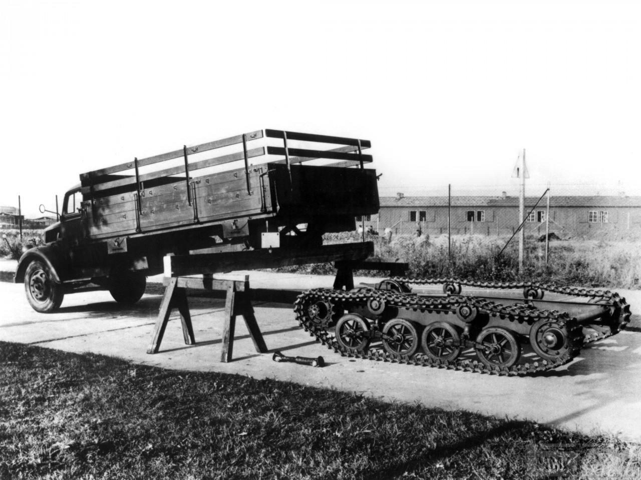 53451 - Грузовые и спец.автомобили Третьего рейха