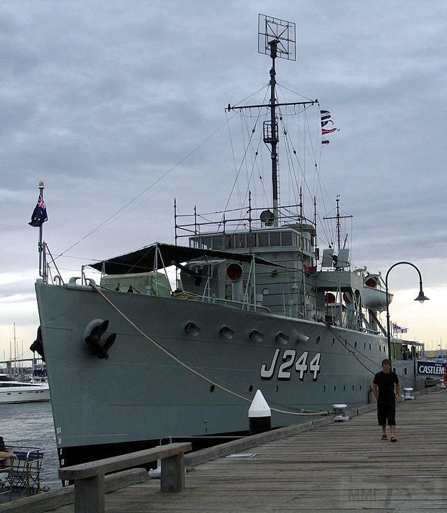 5346 - Bathurst Class Corvette HMIS Bengal (In picture is HMAS Castlemaine is a museum ship in Williamstown, Victoria)