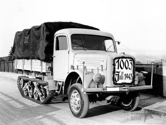 53708 - Грузовые и спец.автомобили Третьего рейха