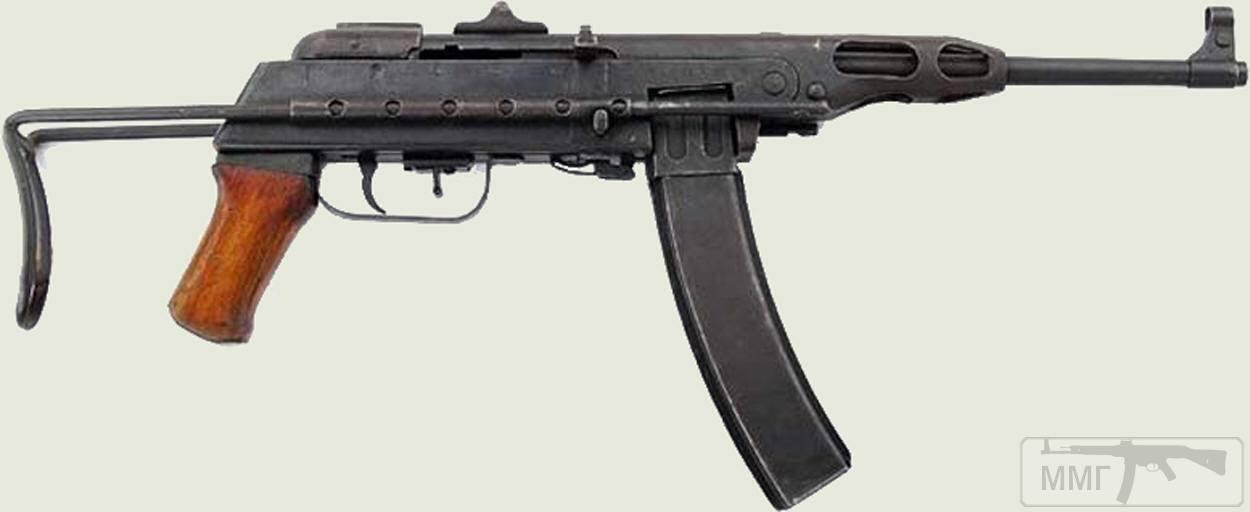 53828 - Редкие пистолет-пулемёты.