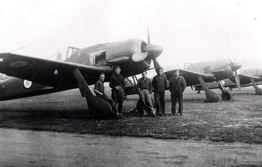 5436 - Немецкие самолеты после войны