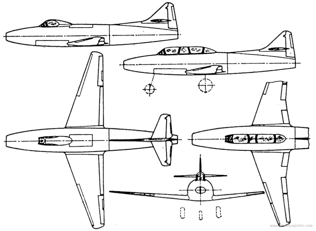 5441 - Немецкие самолеты после войны