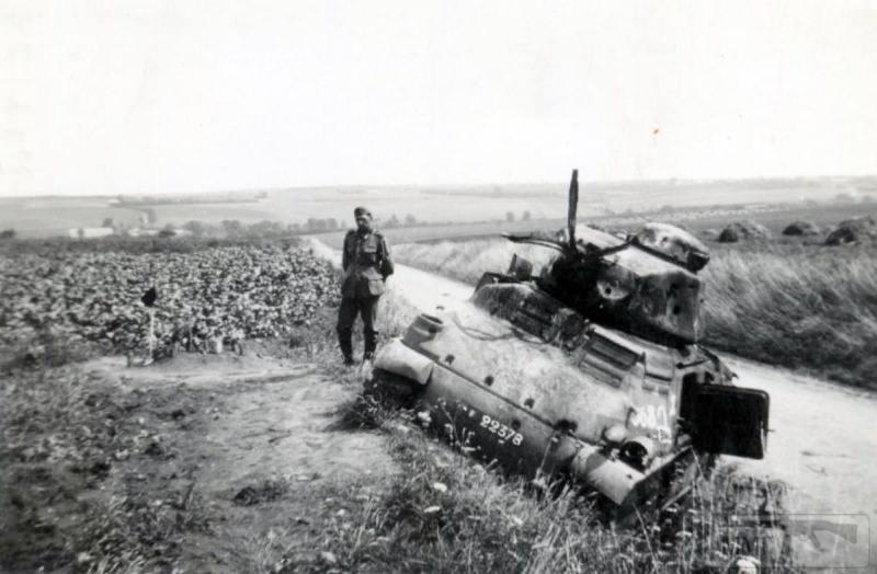 54519 - Военное фото 1939-1945 г.г. Западный фронт и Африка.