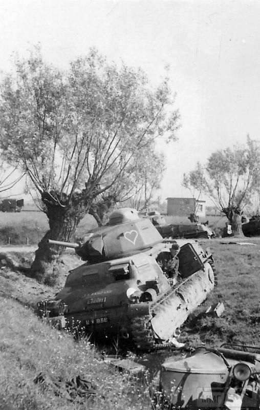 54522 - Военное фото 1939-1945 г.г. Западный фронт и Африка.