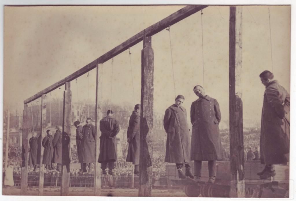 5461 - Казнь военных преступников: фашистов и их пособников 1943 — 1946 г.