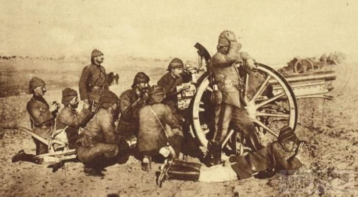 54631 - Артиллерия 1914 года