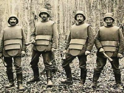 54758 - Удивительная боевая амуниция времен Первой мировой войны.