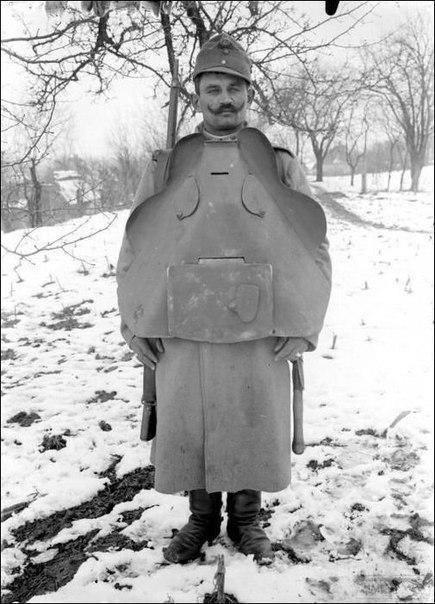 54766 - Удивительная боевая амуниция времен Первой мировой войны.