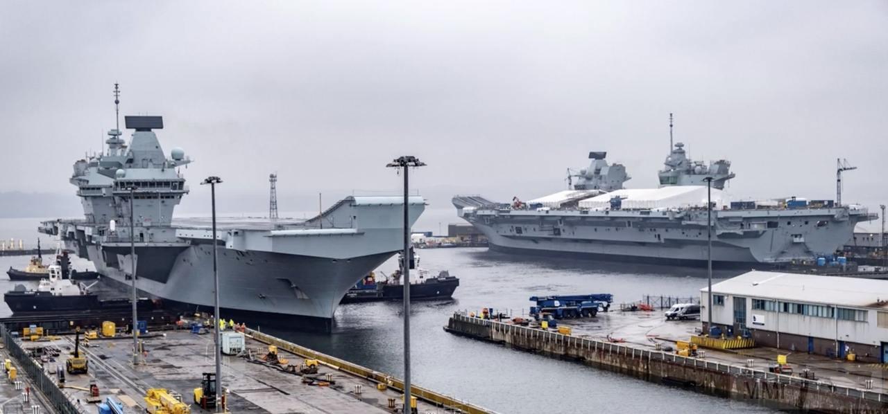 54996 - HMS Queen Elizabeth и HMS Prince of Wales