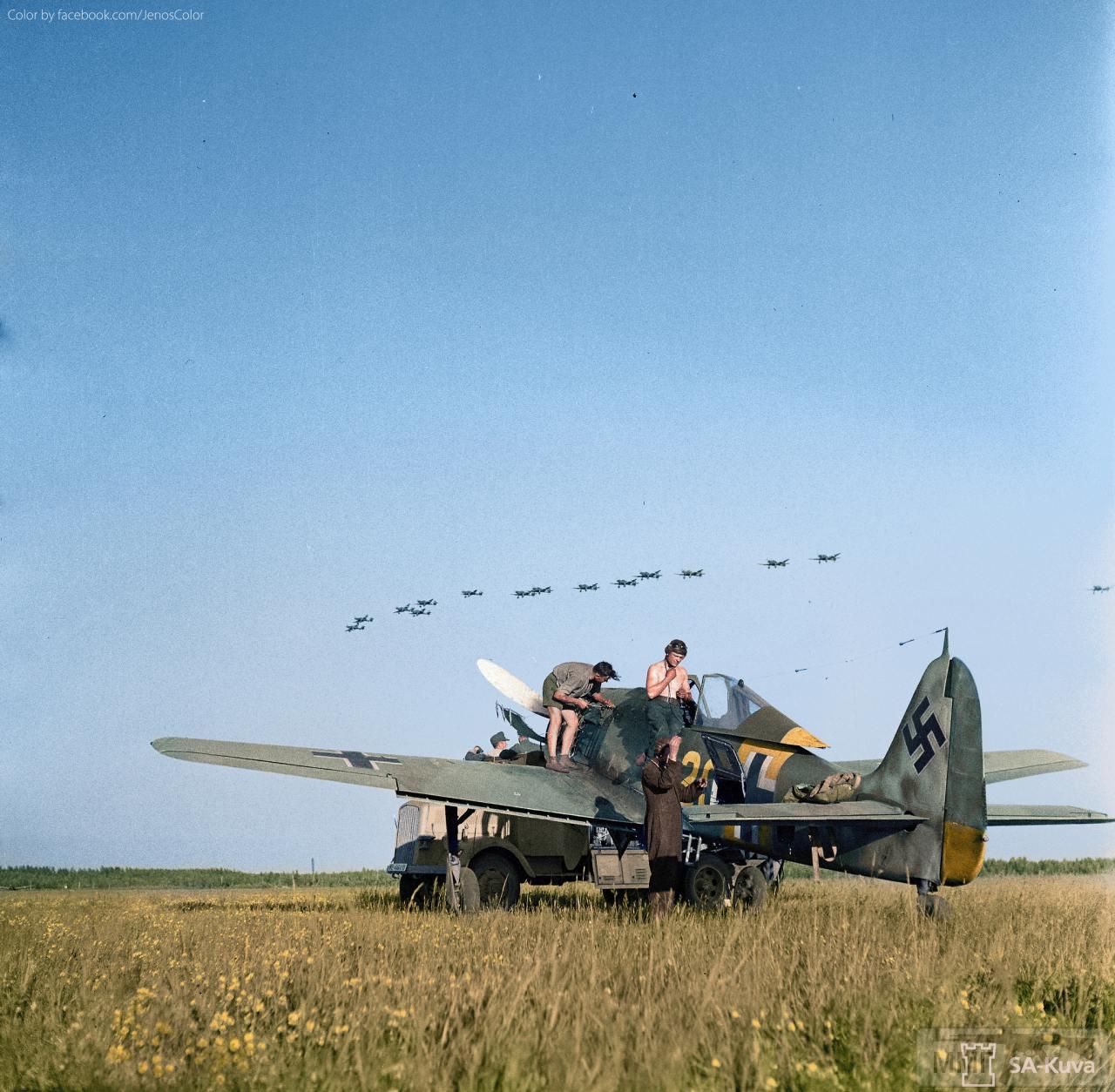 55448 - Самолеты Luftwaffe