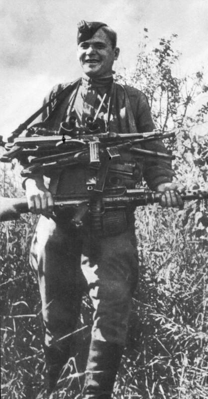 55449 - Военное фото 1941-1945 г.г. Восточный фронт.