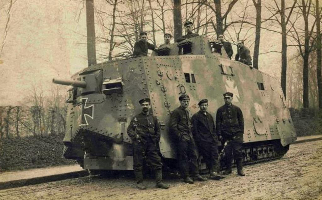 5545 - Танки Первой мировой