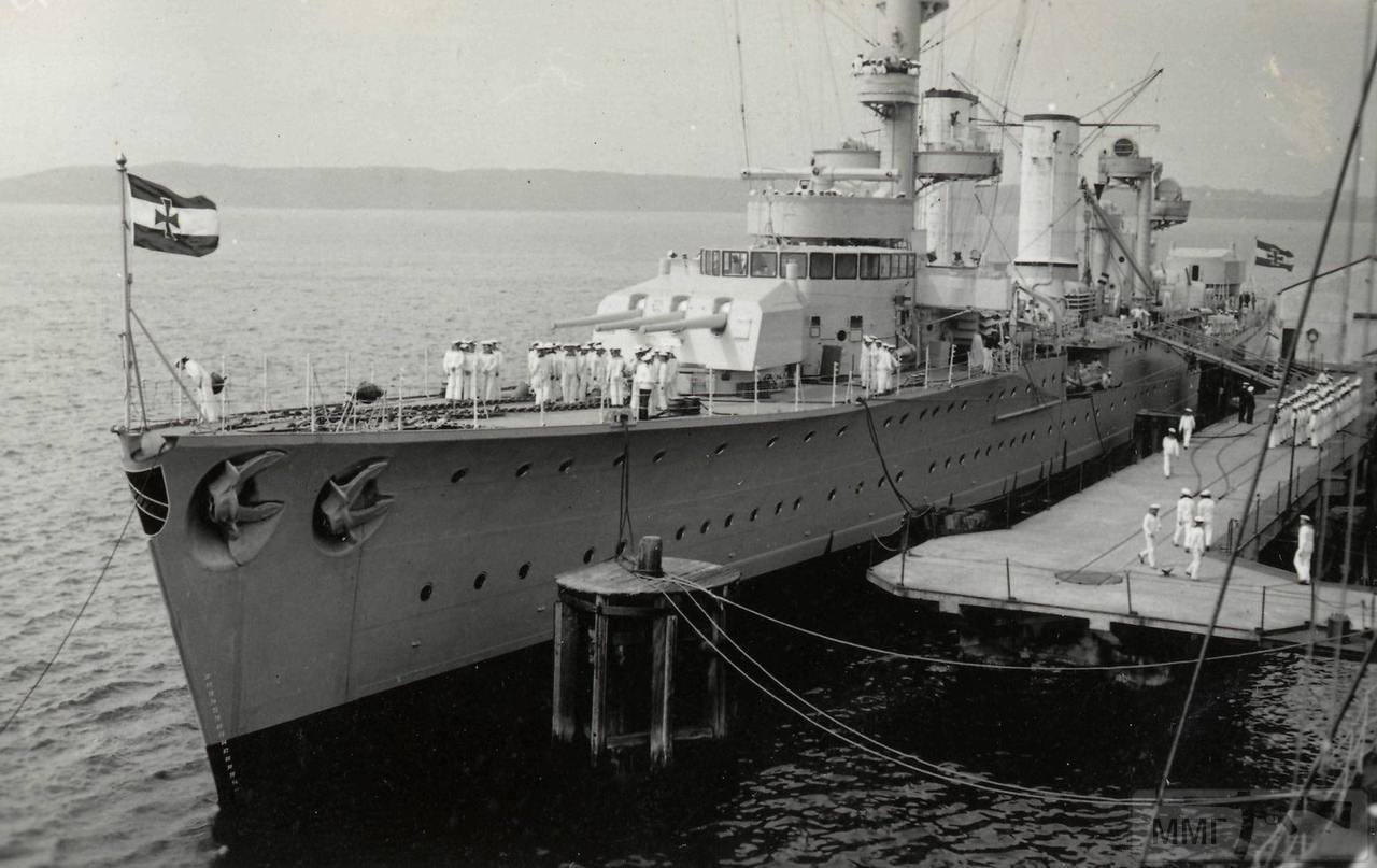 55451 - Легкий крейсер Karlsruhe