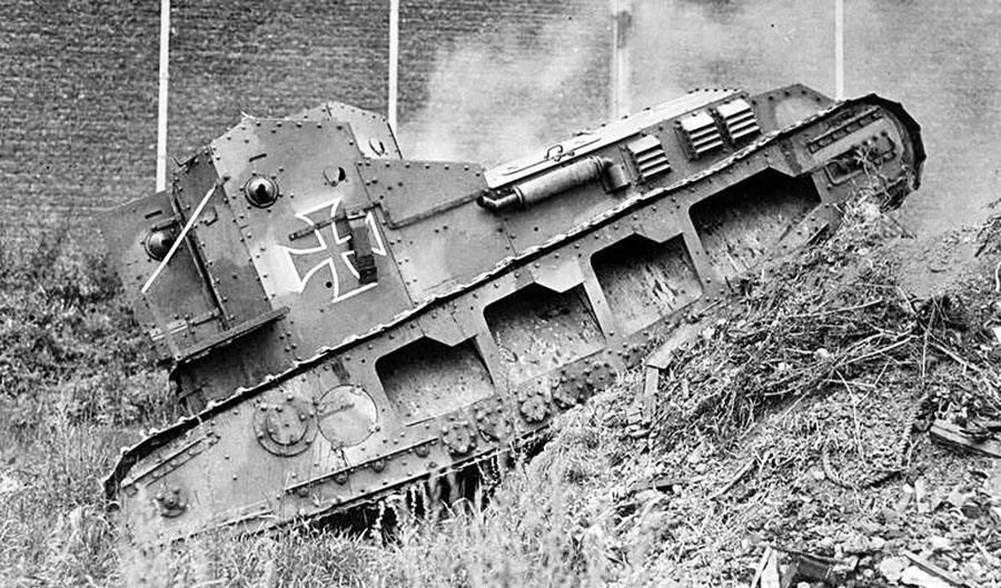 5546 - Танки Первой мировой