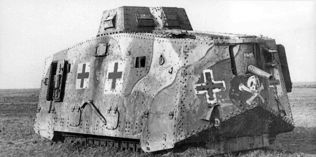 5548 - Танки Первой мировой
