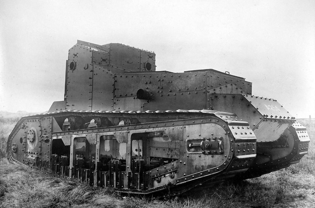 5554 - Танки Первой мировой