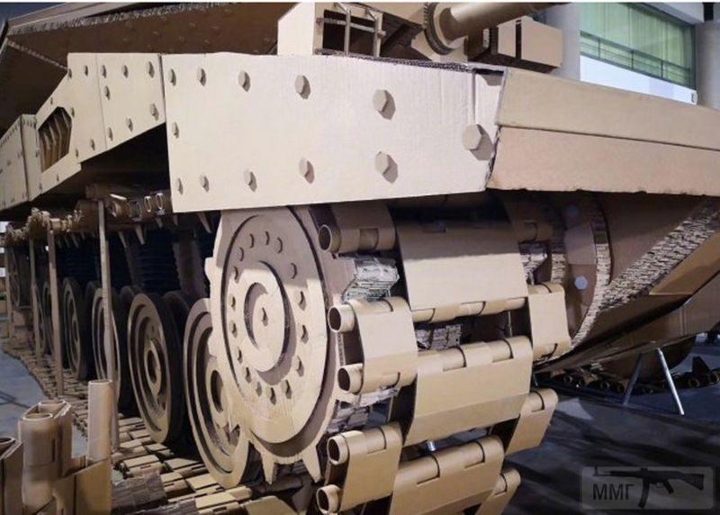 55594 - Деревянный танк