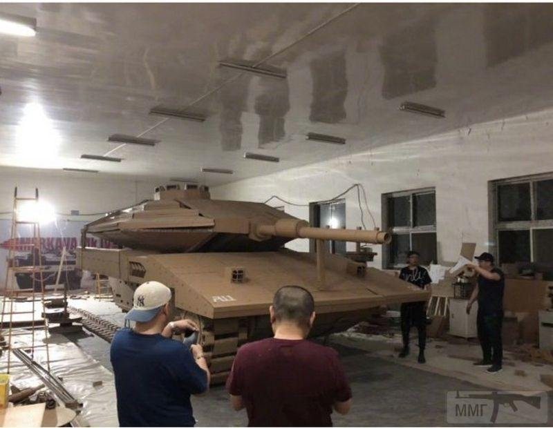 55595 - Деревянный танк