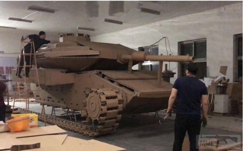 55597 - Деревянный танк