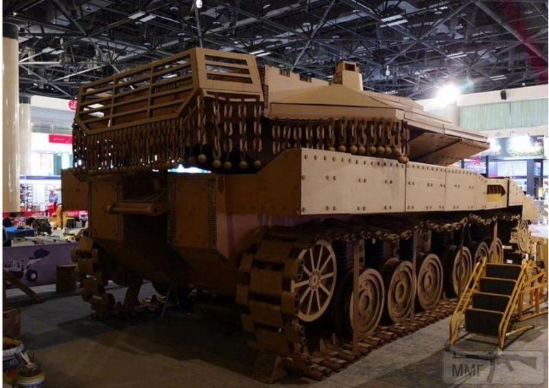 55603 - Деревянный танк