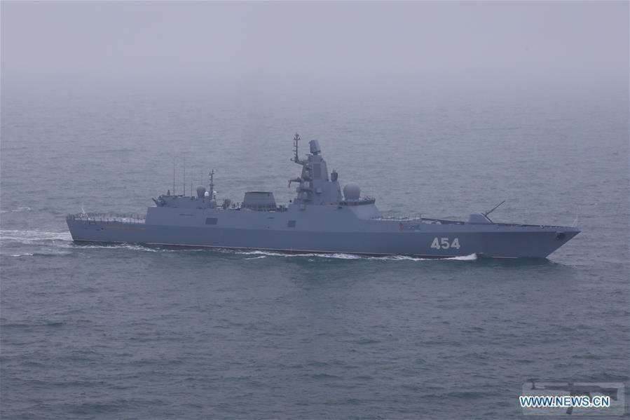55634 - Фрегат «Адмирал Флота Советского Союза Горшков» проекта 22350 ВМФ России