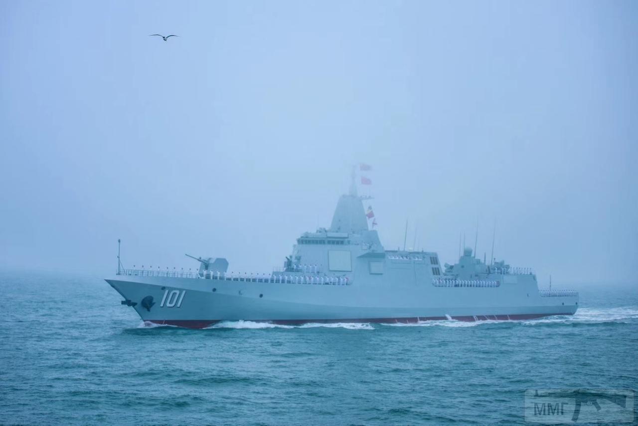 """55635 - Китайский большой эсминец проекта 055 """"Наньчан"""""""