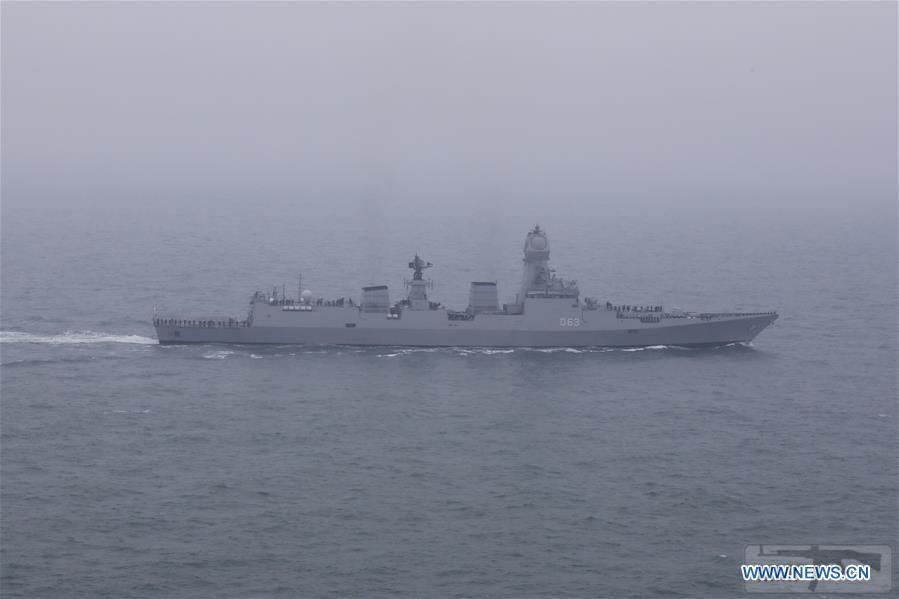 """55636 - Эсминец ВМС Индии """"Калькутта"""" проекта 15А"""