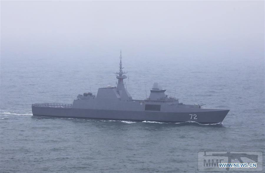 """55637 - Фрегат ВМС Сингапура """"Сталварт"""""""