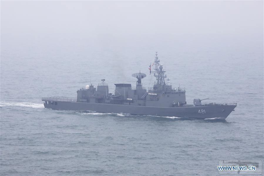 """55643 - Фрегат Королевских ВМС Таиланда """"Наресунан"""""""